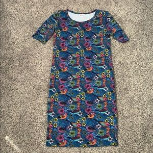Lularoe Julia T-shirt dress